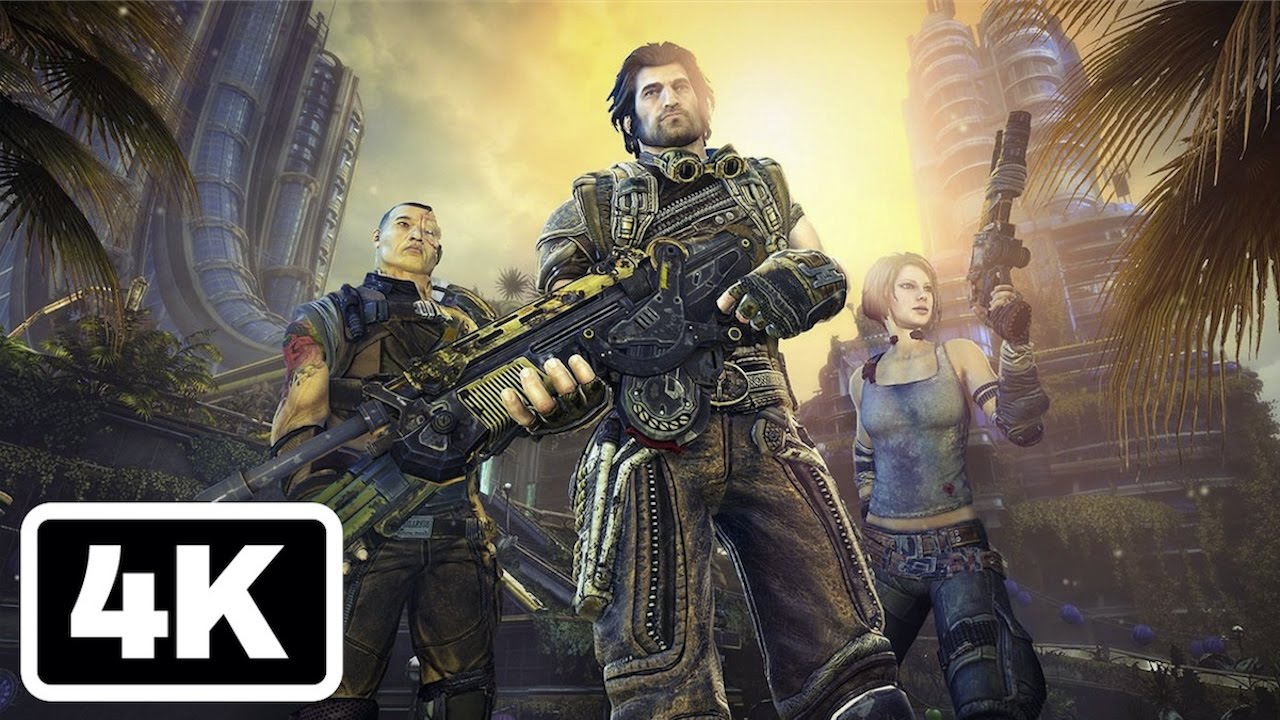 14 Minutes of Bulletstorm: Full Clip Edition Gameplay in 4K - YouTube