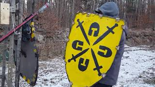 Shield Grappling and Manipulations - Medieval sword and shield
