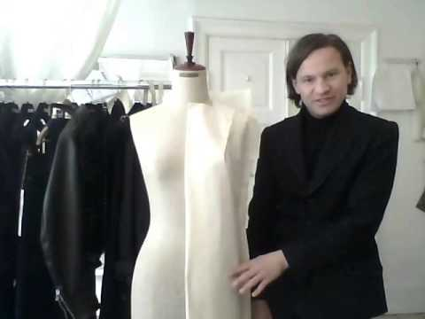 14. How to drape a dress - by bespoke tailor Sten Martin