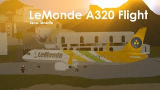 | ROBLOX | LeMonde Airlines A320-Flug