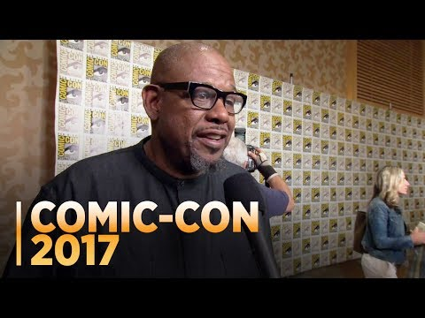 BLACK PANTHER: Forest Whitaker at Comic-Con 2017