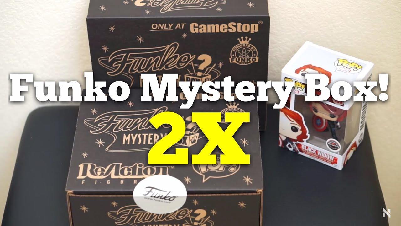 Gamestop Black Friday Funko Mystery Box 2015 Youtube
