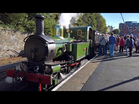 Isle Of Man Steam Railway (part one) - Douglas to Ballasalla [4K]