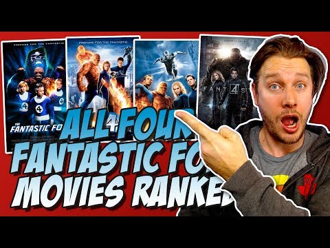 All Four Fantastic Four Movies Ranked From the Worst to the Best!