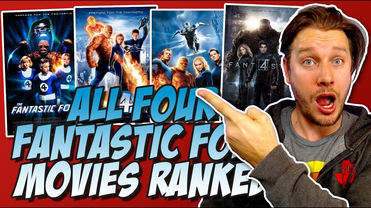 Download All Four Fantastic Four Movies Ranked From the Worst to the Best!