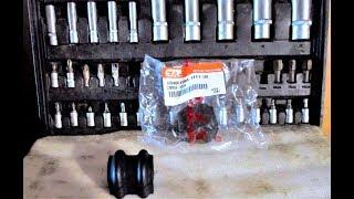 Замена втулки стабилизатора поперечной устойчивости на хендай солярис своими руками