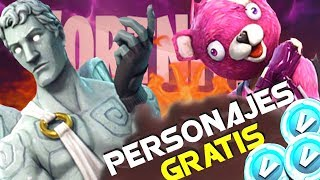 HOW TO GET THE NEW VALENTINE'S CHARACTERS FREE - FORTNITE