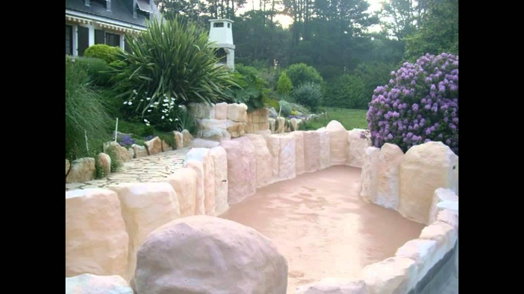 Construction dun bassin bio de 200 m en bton armmpg  YouTube