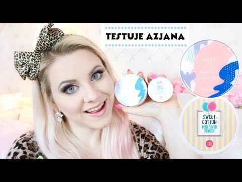 Koreański Chat Makeup COSRX i Holika Holika Sweet Cotton * Testuje Azjana 3 * Candymona