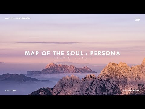 BTS 'MAP OF THE SOUL : PERSONA' Piano Album