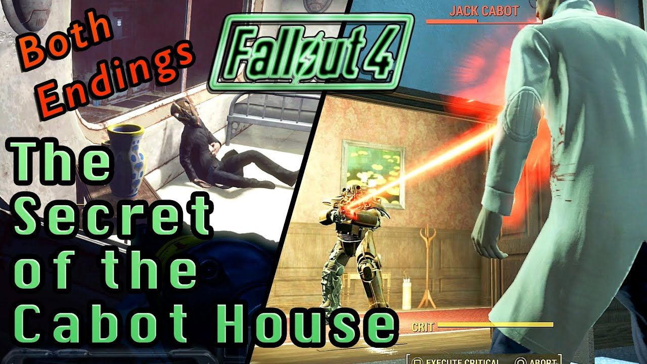 The Secret Of The Cabot House Quest Both Endings