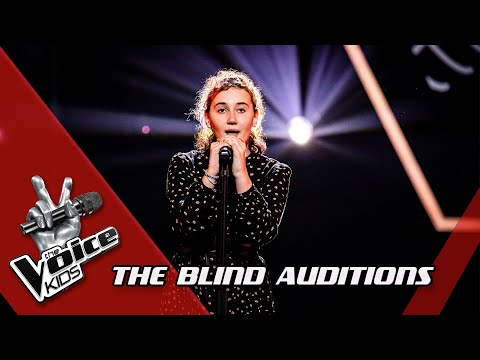Sofia - 'Teardrop' | Blind Auditions | The Voice Kids | VTM