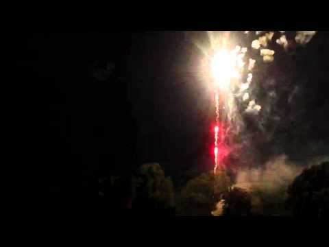 Granby, MO Fireworks Display July 2, 2012