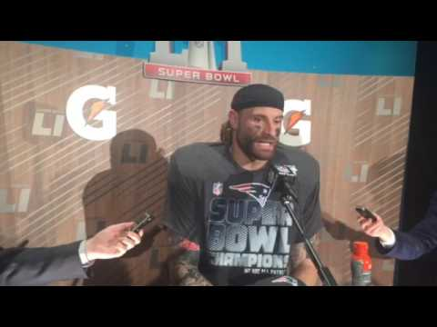 7549512c6 Super Bowl  Chris Long knew Patriots were going to win one Brady got the  ball in OT