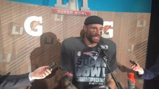 super bowl chris long knew patriots were going to win one brady got the ball in ot