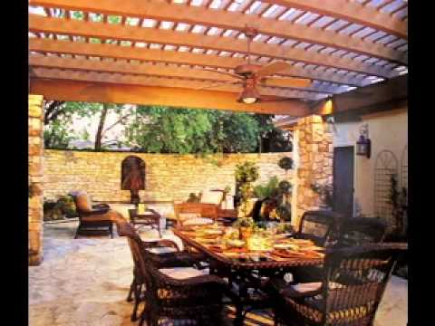 Patio decorating ideas on a budget - YouTube