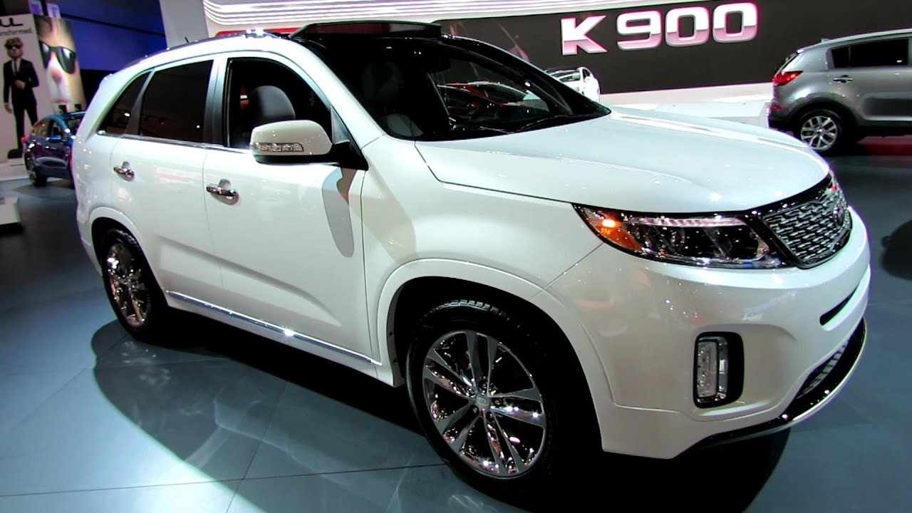 Superior 2014 KIA Sorento SXL V6 GDI   Exterior And Interior Walkaround   2013 LA  Auto Show   YouTube
