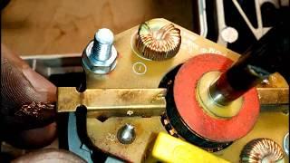 Електропривод швейної машини BROTHER XL-5050. Розбирання і ремонт електродвигуна. Заміна щіток.