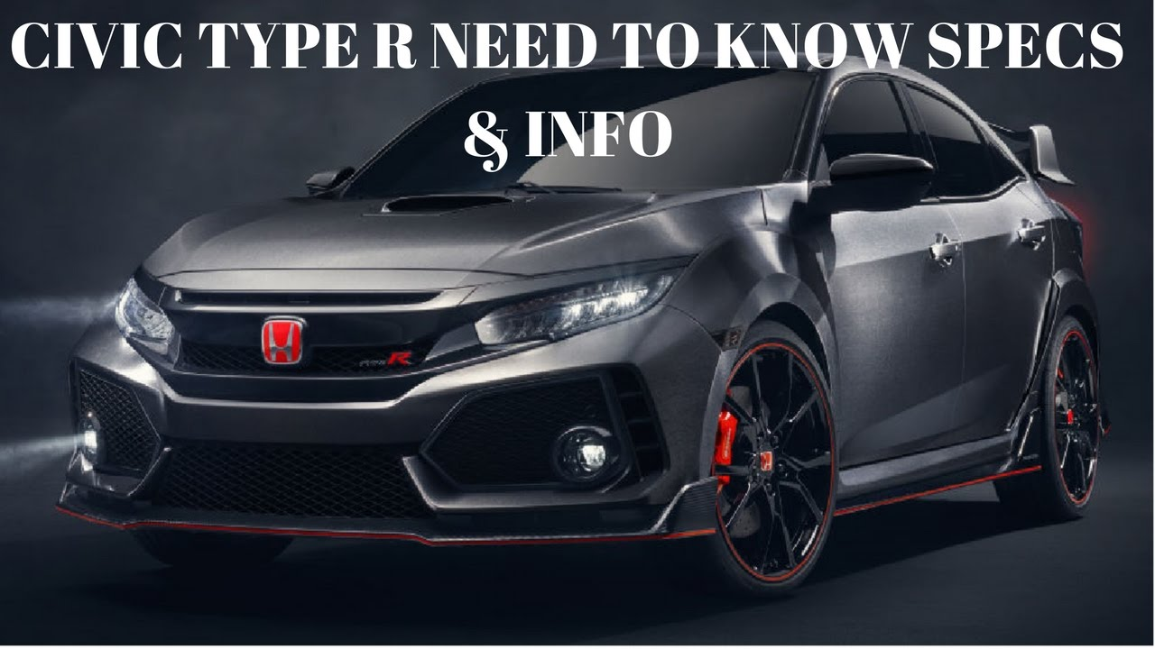 2017 Civic Type R Specs First Look At Sonic Gray