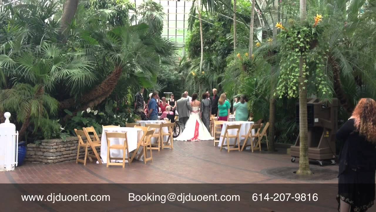 Keri And Mark Franklin Park Conservatory Wedding Ceremony Reception 5 31 13