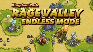 Kingdom Rush - Rage Valley - Endless Mode - High Score (Wave:48/No items used)