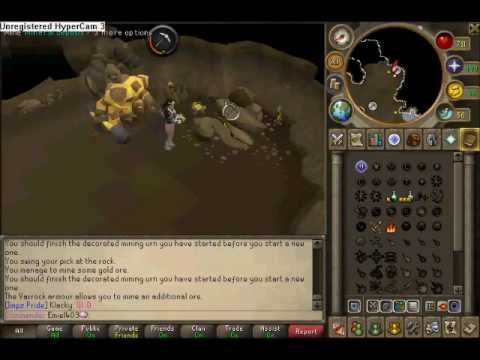 Mining With JUJU Mining Potions And Overheat