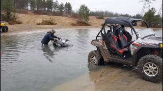 hydro locking 2015 polaris atv fails atv wins