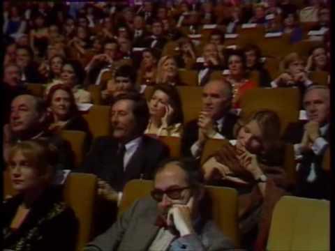 Catherine Deneuve wins a César for movie 'The Last Metro'(Le dernier métro) in 1981