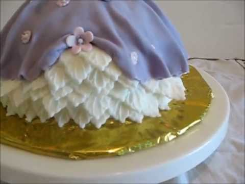 How to make a Princess Doll Cake Decorating