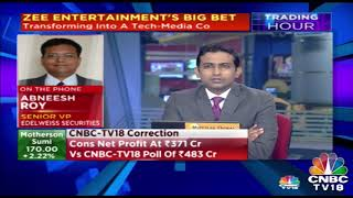 Baixar Abneesh Roy, Senior VP Edelweiss Securities Shares His Insight On Zee Entertainment