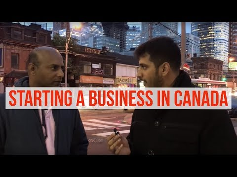 How to Start a Business In Canada ?