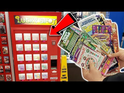 BUYING ALL THE TICKETS IN THE LOTTERY MACHINE!! (PROFITED!!) Michigan Lottery!