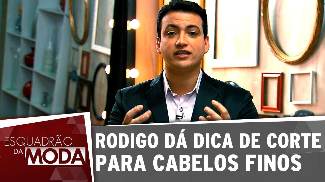 Adesivo De Alto Desempenho Argamassa ~ Rodigo dá dica de corte para cabelos finos YouTube