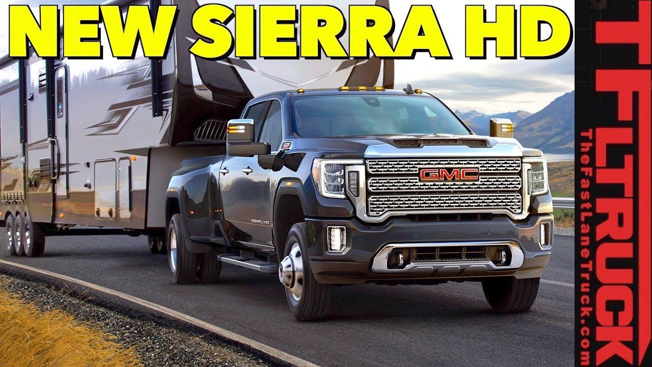 Breaking News: 2020 GMC Sierra HD Truck Will Tow Over ...