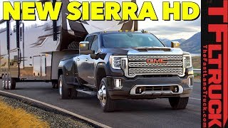 Breaking News: 2020 GMC Sierra HD Truck Will Tow Over 30,000 Lbs - See it HERE First!