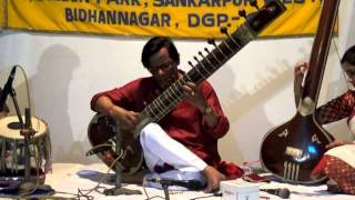 indian classical music/sitar/artist - Purnendu Banerjee Tabla Accomp. by-Soumitrajeet Chatterjee.