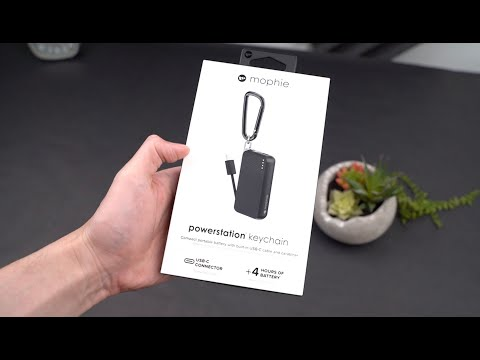 Mophie powerstation keychain - Unboxing and first impressions