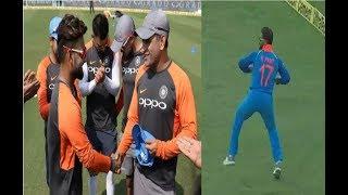 ऋषभ पन्त ने डेब्यू वनडे मैच में ऐसा काम कर हर किसी का जीत लिया दिल