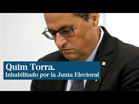 España: Tribunal Supremo ratifica inhabilitación de presidente catalán