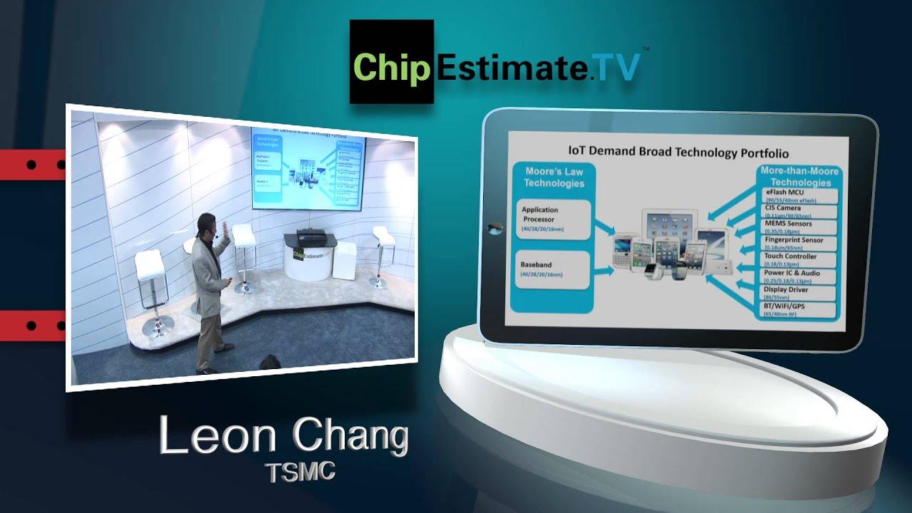 DAC 2015 IP Talks: Leon Chang, TSMC