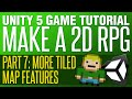 Unity RPG Tutorial #7 - More Mapping Goo