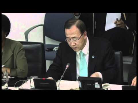 WorldLeadersTV: UN S-G BAN KI-MOON: SYRIA, INDIA, MYANMAR, RIO+20, SUDAN (UNTV)