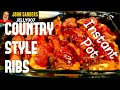 COUNTRY STYLE RIBS in the INSTANT POT Quick Easy and Delicious!! Portable electric pressure cooker