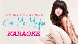 Carly Rae Jepsen - Call Me Maybe Karaoke