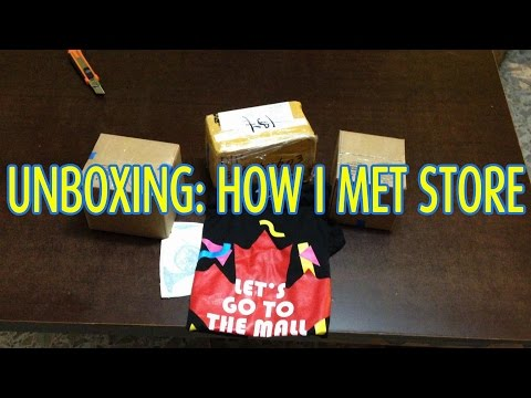Unboxing How Met Store