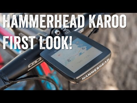 First Look! Hammerhead Karoo GPS Bike Unit!