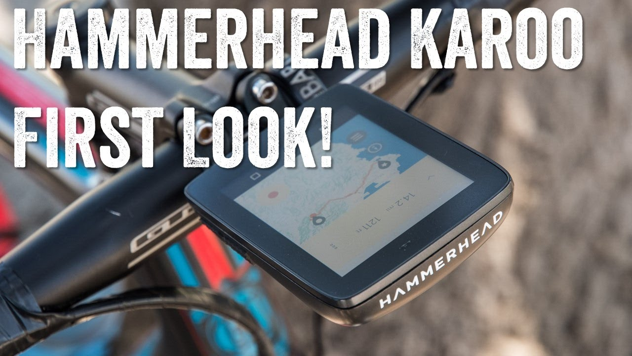 Hands-on: Hammerhead's new Karoo GPS Bike Computer | DC Rainmaker