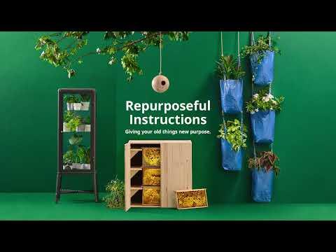 IKEA Repurposeful Instructions   FRAKTA GARDEN