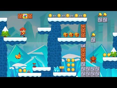 "Super Lep's World 4 Swordigo ""Adventure Games"" Android Gameplay Video"