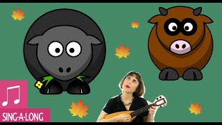 f0c4e32d Baa Baa Black Sheep with a Cow?! by Alina Celeste - Learn English Songs